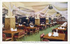Dining Room Stores Matsuya Department Store Ginza Old Tokyo