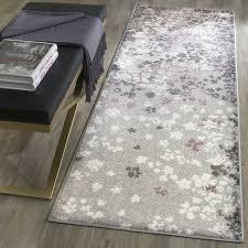 safavieh adirondack vintage floral light grey purple rug 2 u00276 x