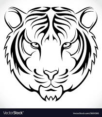tribal tiger vector best and tiger 2018