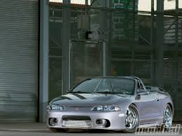 mitsubishi eclipse tuned 1997 mitsubishi eclipse gst spyder ten second spyder photo