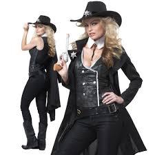 western halloween costumes western sheriff cowgirl costume