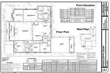 home blue print house blueprints ebay