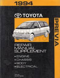 1994 toyota previa wiring diagram manual original