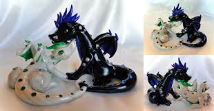 toothless cake topper wedding cake topper pair 2 by shemychan on deviantart