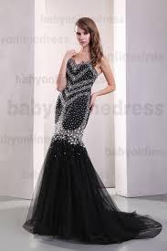 tulle for sale 2018 hot sale sweetheart satin tulle black beaded mermaid