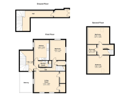3 bed flat for sale in the post office flat main street