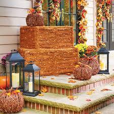 Fall Hay Decorations - https improvements scene7 com is image improveme