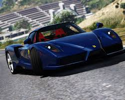 blue enzo 2002 enzo add on replace gta5 mods com