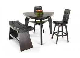 bobs furniture kitchen table set boomerang 4 bar stool bench set dining room sets