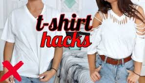 Upcycle Old Tshirts - 7 t shirt hacks every should know how to transform your old