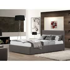 King Ottoman Grian Furnishers Berlin Fabric Ottoman King Size Bed Frame