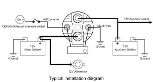 battery isolator wiring diagram battery gauge wiring diagram
