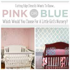 pink nursery ideas pink or blue which would you choose for a little girl s nursery