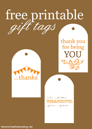 free printable gift tags here comes the sun