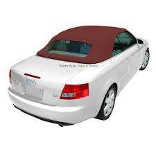 audi a4 2003 2009 convertible top u0026 glass window bordeaux