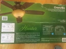 hunter fan model 53214 used hunter granville bronze ceiling fan model 53214 in apex