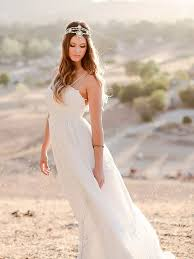 Boho Wedding Dresses 17 Boho Lace Wedding Dresses For The Free Spirited Bride