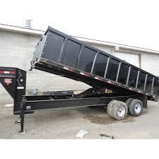 heavy duty dump trailer