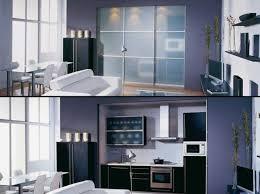cache cuisine une cuisine cachée dans un placard sliding door kitchens and doors