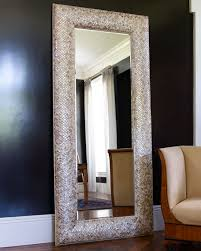 mother of pearl floor l interlude home mother of pearl floor mirror