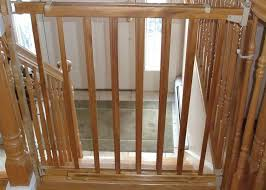 Baby Gate Stairs Banister Top Of Stairs Baby Gate Ideas Latest Door U0026 Stair Design