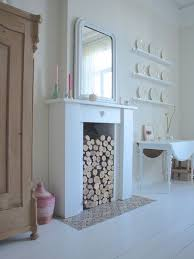 Fireplace Decorations Ideas Best 25 Fireplace Logs Ideas On Pinterest Fake Fireplace Logs