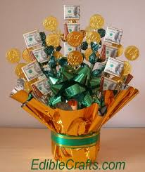 food bouquets st day crafts money candy bouquet diy from