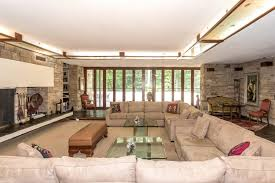 At Home Design Center Greenwich Ct 70s Fallingwater Inspired Home Asks 3 5m Curbed