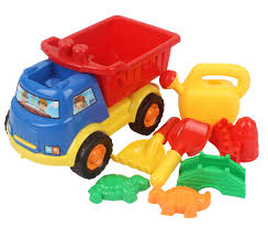 memtes mini sand dump truck beach kids toy sand mold hand tools