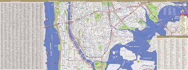 Streetwise Maps Bronx Map By Vandam Bronx Streetsmart Map City Street Maps Of