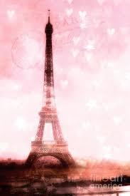 paris pink eiffel tower shabby chic paris dreamy pink eiffel