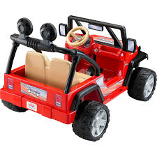power wheels jeep hurricane power wheels jeep wrangler 12 volt battery powered ride on red