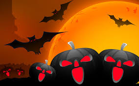 free 3d halloween wallpaper red halloween wallpapers night