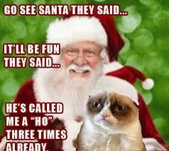 Cat Christmas Memes - santa grumpy cat christmas funny meme funny memes