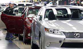 lexus japan dealer toyota estimates loss in output from japan quakes at 80 000 vehicles