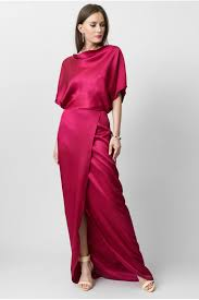 coloured dress raspberry coloured silk dress c est ma robe