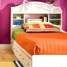 white twin storage bed with bookcase headboard u2013 studenty me