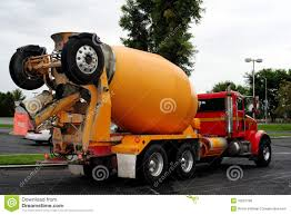 periodical curiosity spring is cement truck season