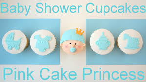 how to make baby shower cupcakes using plunger cutters youtube