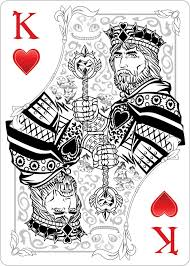 best 25 king of hearts card ideas on pinterest king of hearts