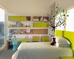 bedroom modern decor idea for kids rooms with unique 3d tree