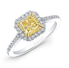 diamond rings square images White and yellow gold white diamond square halo ring jpg