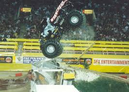 show me monster trucks front flip or reverse back flip