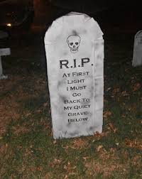 image gallery halloween diy gravestones