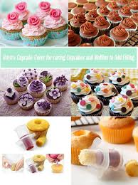 how to decorate cupcakes at home amazon com buytra cupcake plunger cutter pastry corer decorating
