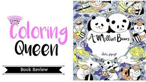 a million bears coloring book review youtube