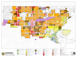Zoning Map Zoning Map City Of Covina California