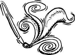 calligraphy pen paint art coloring page wecoloringpage