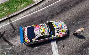 nissan gtr skyline tunable nissan gtr skyline sticker bomb paint job gta5 mods com