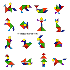 tangram puzzle tangram puzzle dissection plan freepatternsarea